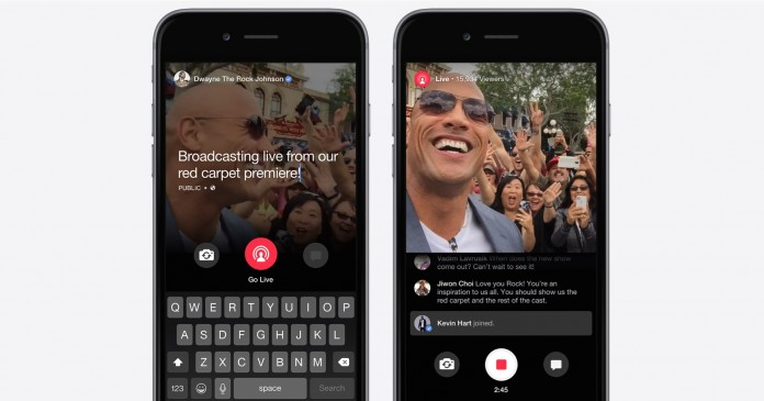 Facebook Inc yesterday it rolled out the facebook-live feature to all users and now, it's available to verified Pages as well. Image Credit: tctechcrunch2011