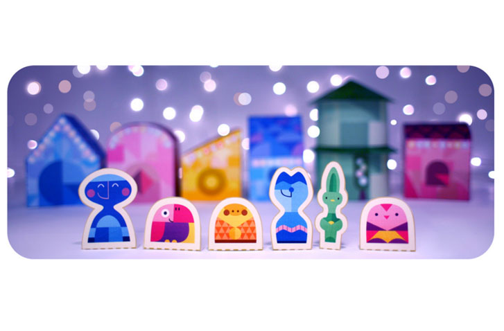 Photo of Christmas Greetings from Google's multi-day doodle