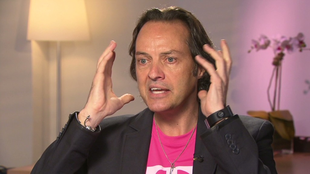 T-Mobile CEO John Legere. Image Credit: Turner