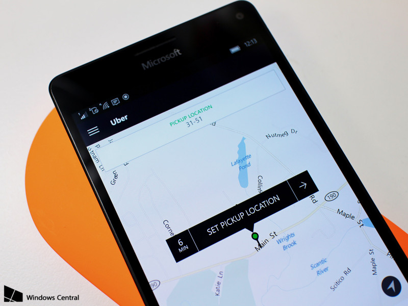 Uber is now available as a Universal Windows 10 app - PC