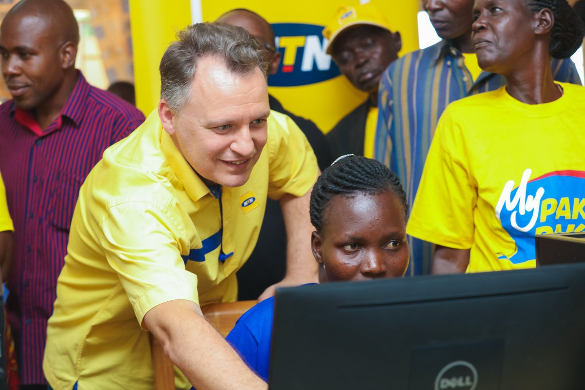 Photo of MTN Uganda Commissions Shs 100M ICT Resource Centre in Gulu