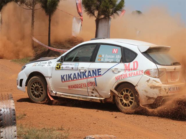Duncan Mubiru (Kikankane) is among the four drivers representing Uganda at the rally.