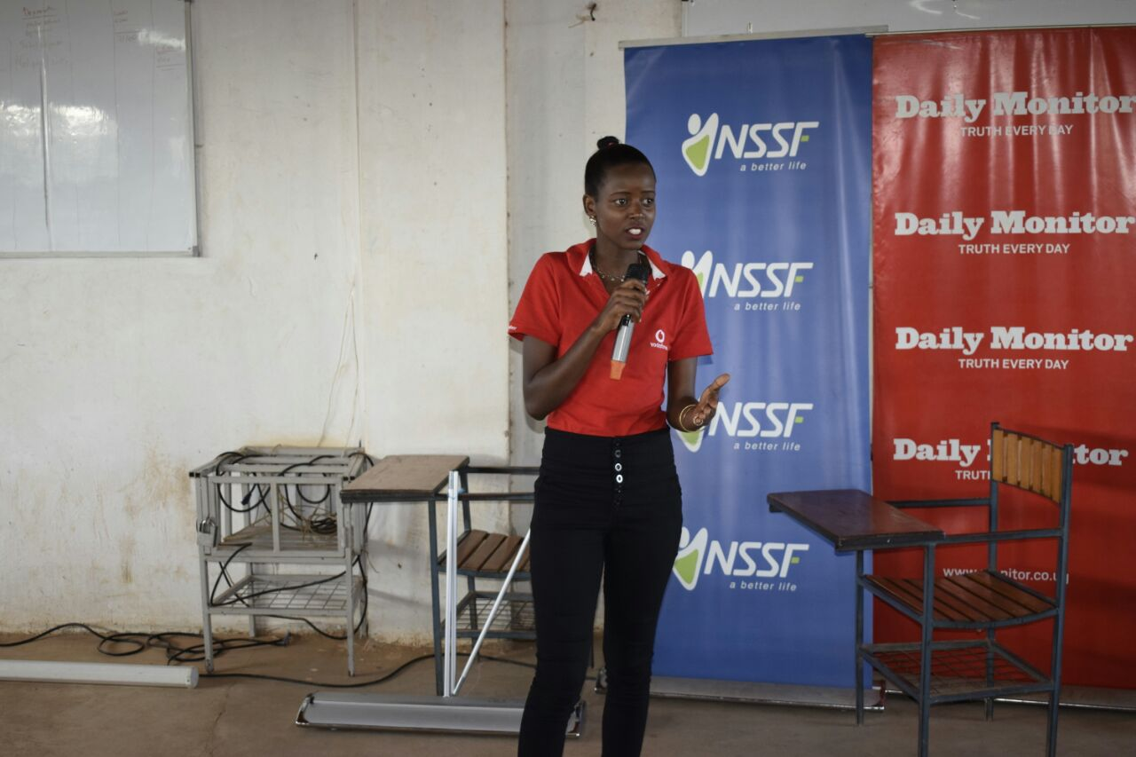 Photo of Vodafone Uganda Partnership with the NSSF Career Expo are Committed to Empowering Youth