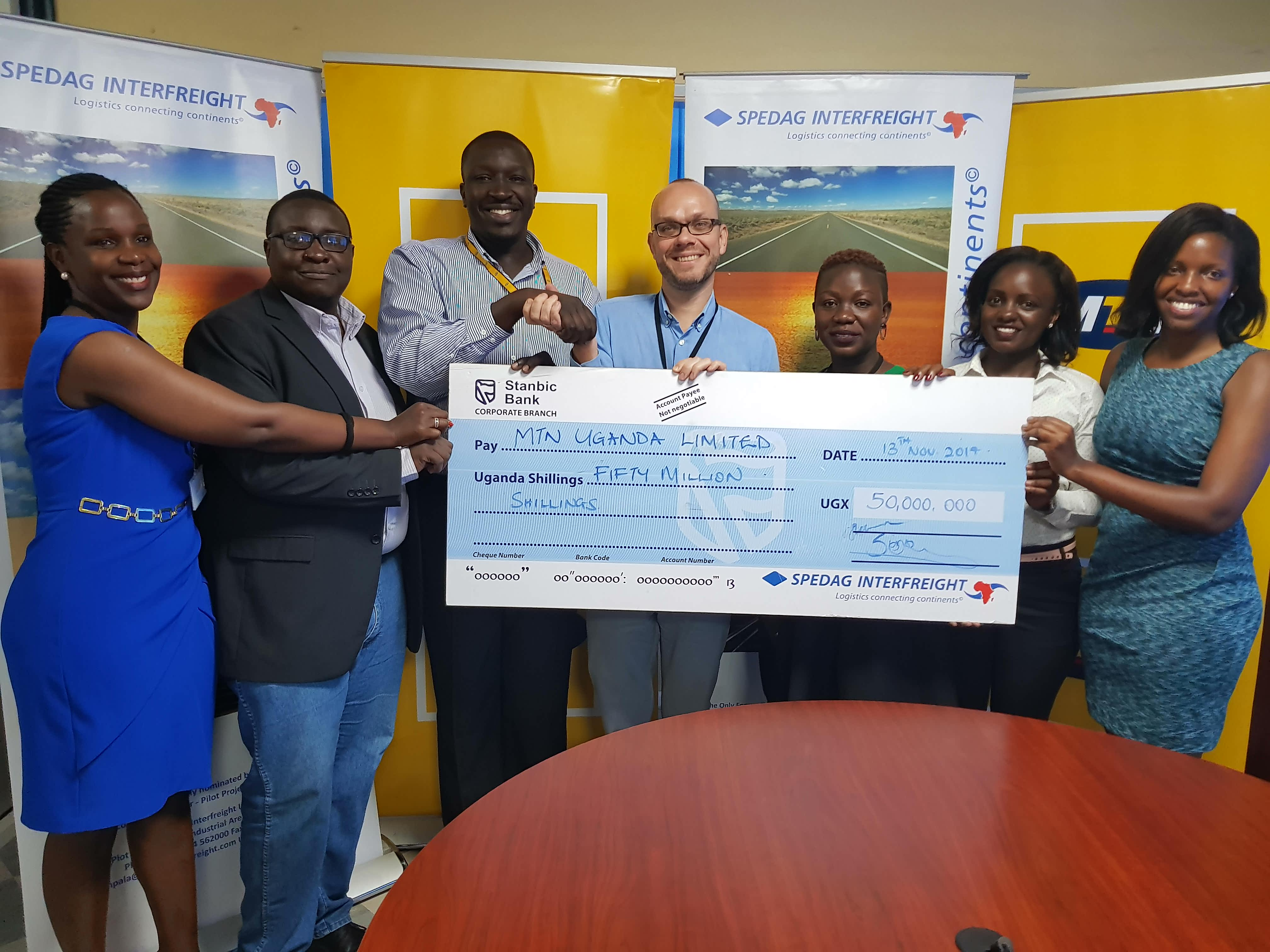 Photo of Spedag Interfreight Boosts MTN Marathon as logistics partner