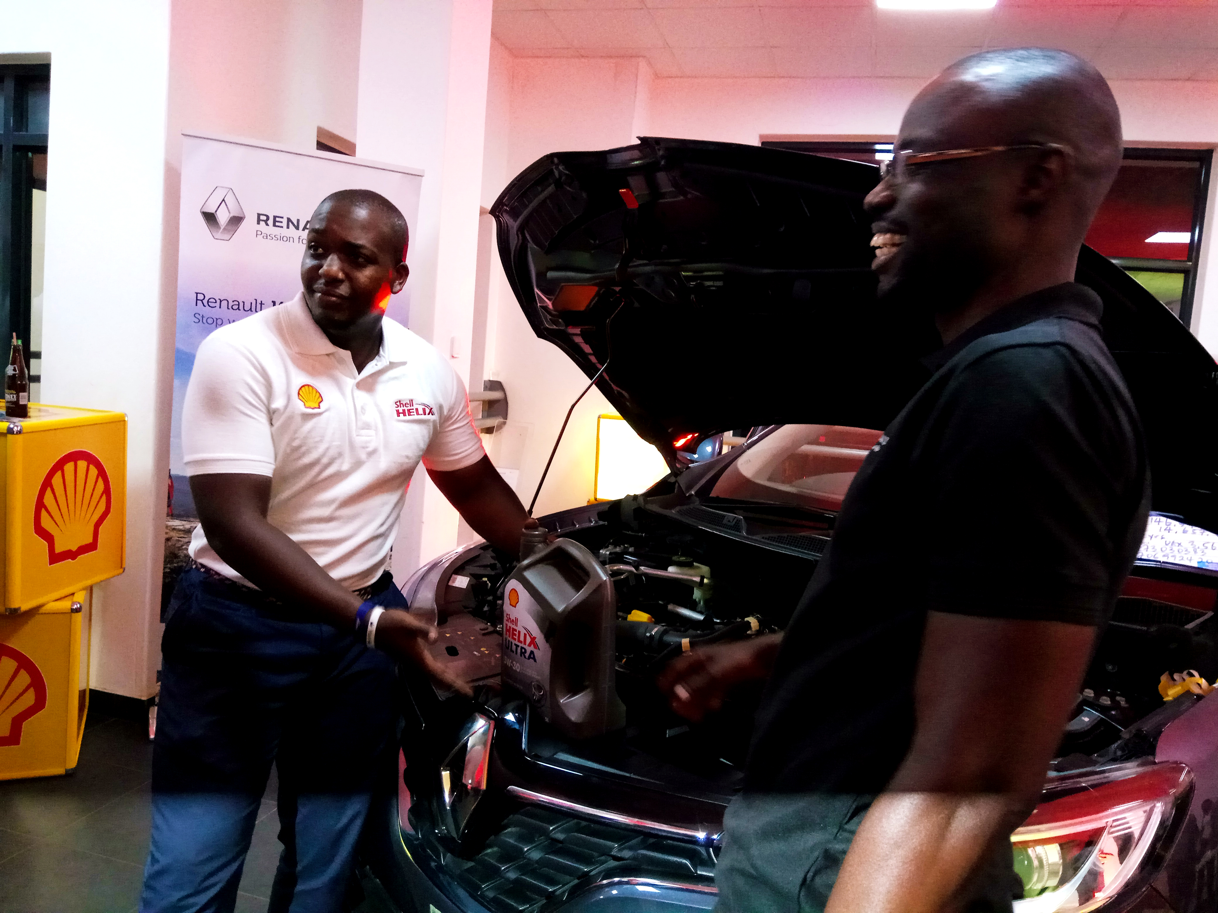 Photo of Renault Franchisee in Uganda endorses Shell Helix Ultra with PurePlus Technology