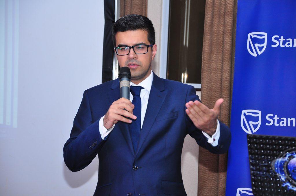 Jibran Qureishi, Stanbic Bank's Regional Economist for East Africa.