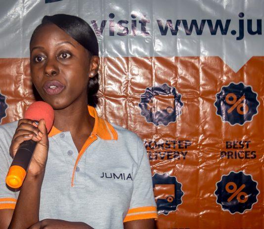 Stacey Mwesezi Marketing Manager, Jumia Uganda. (Photo Courtesy: Twitter @iam__one)