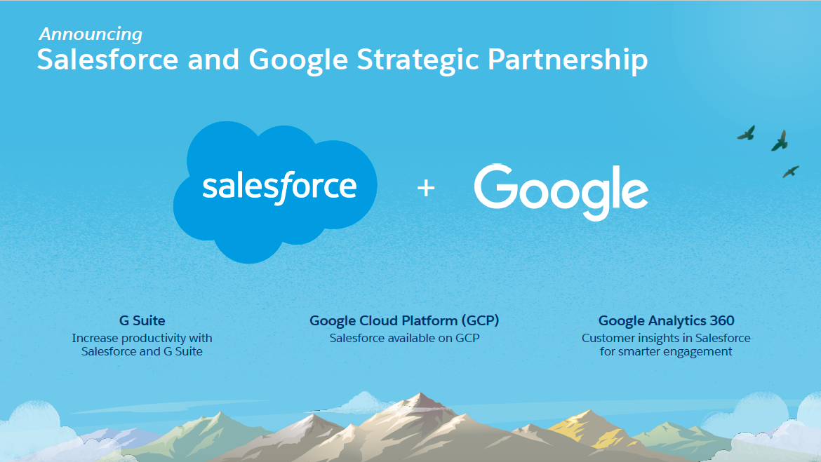 Photo of Google announces strategic cloud partnership with Salesforce
