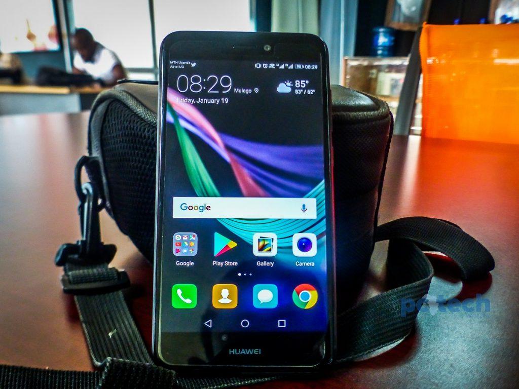 Huawei P8 Lite Display.