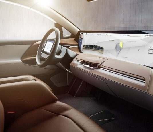 The car is equipped with a digital lounge featuring a panoramic display acting as a hub for navigation, entertainment and even monitoring the health of its occupants. (Photo Credit)