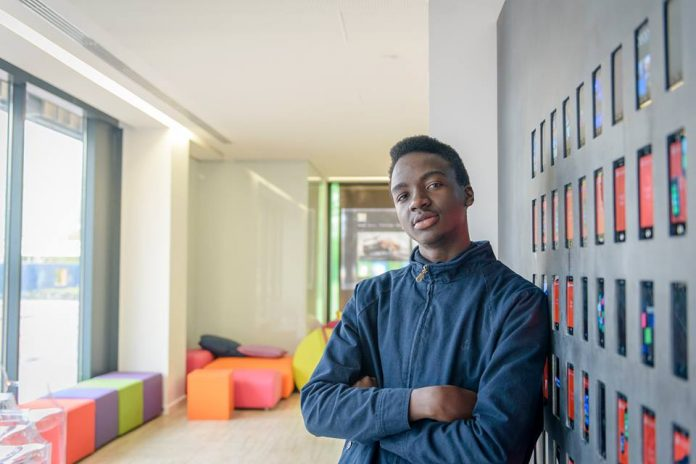 Charles Muhanguzi; a startup entrepreneur and CEO of Air Cool emerge semi finalist in the 2018 GIST Tech-I Competition.