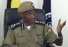 Inspector General of the Uganda Police Force; Gen. Kale Kayihura. (Photo Courtesy: YouTube Images)