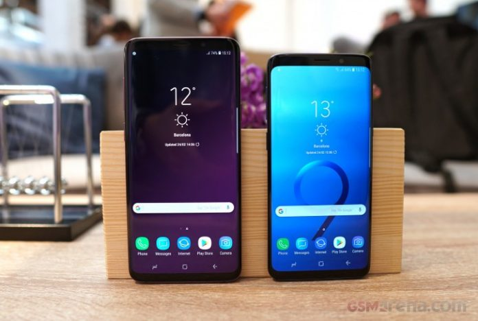The newest phablets to the S-series; the Samsung Galaxy S9, S9+. (Photo Courtesy: GSM Arena)