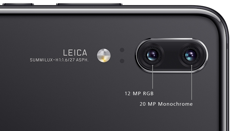 Huawei P20 Dual Camera.