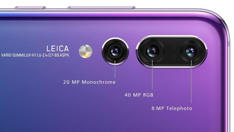 Huawei P20 Pro Triple Camera.