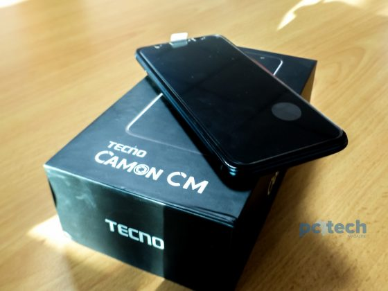 The Tecno Camon CM.