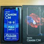 Unboxing the Tecno Camon CM.