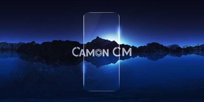 The Tecno Camon CM unveiled, to be shipped in global markets across the world as its exact price will be based on the local market.