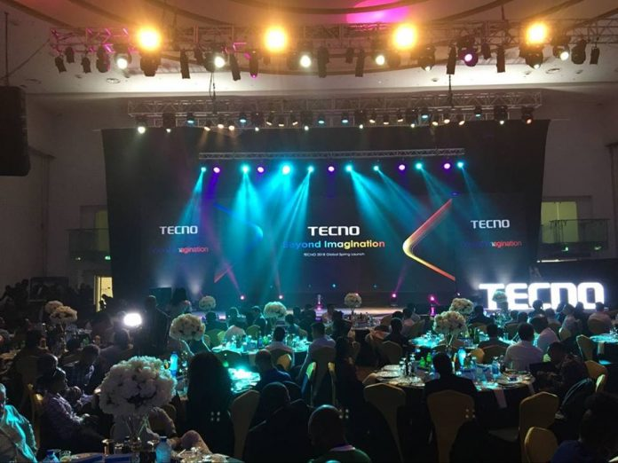 Camon X launch in Lagos, Nigeria on Thursday 5th April 2018.