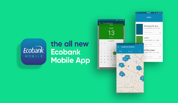 Ecobank app. (Image Credit: Financial Watch)