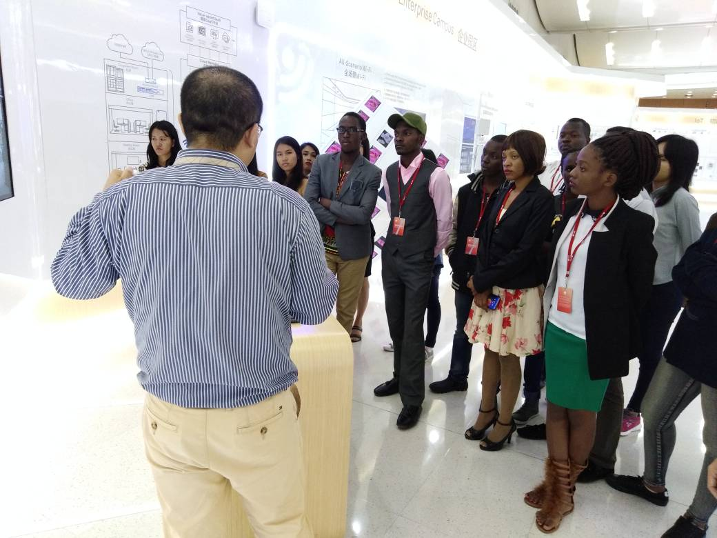 Huawei Seeds for Future Program 2018 finalists in Shenzhen.