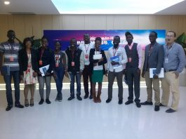 Huawei Seeds for Future Program 2018 finalists in Shenzhen, China.