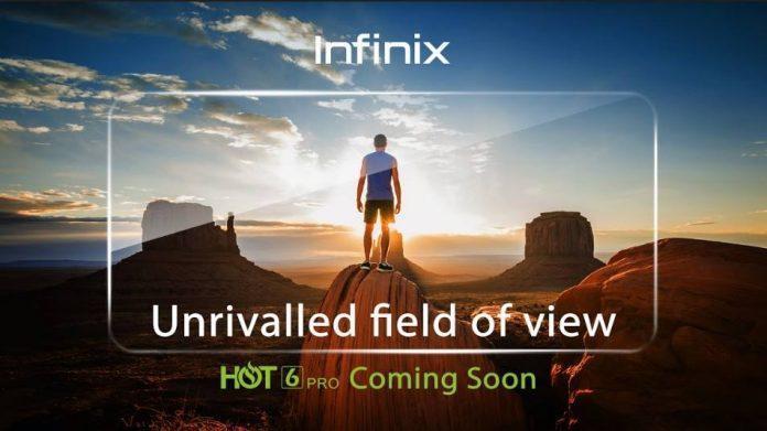 Infinix Hot 6 Pro.