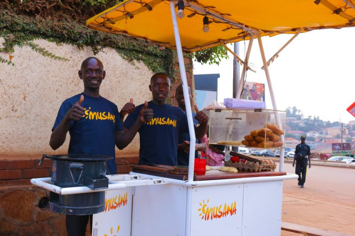Manon Lavaud solution 'Musana' provides the tools and support to street vendors to achieve a clean, sustainable, and dependable work environment. (Photo Credit: Musana)