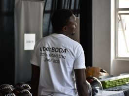 An official of Uber pictured during the launch of UberBoda at their Kampala head offices. (Photo Credit: Nzonzi Photography)