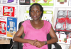 Online business has enabled Akello Joyce to open up her own home appliance store.
