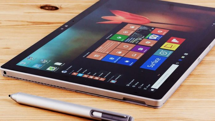 Microsoft Surface Pro. (YouTube Images)