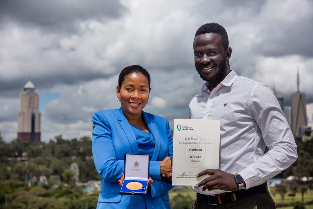 Photo of Matibabu Wins Africa Prize for Engineering Innovation in Nairobi, Kenya