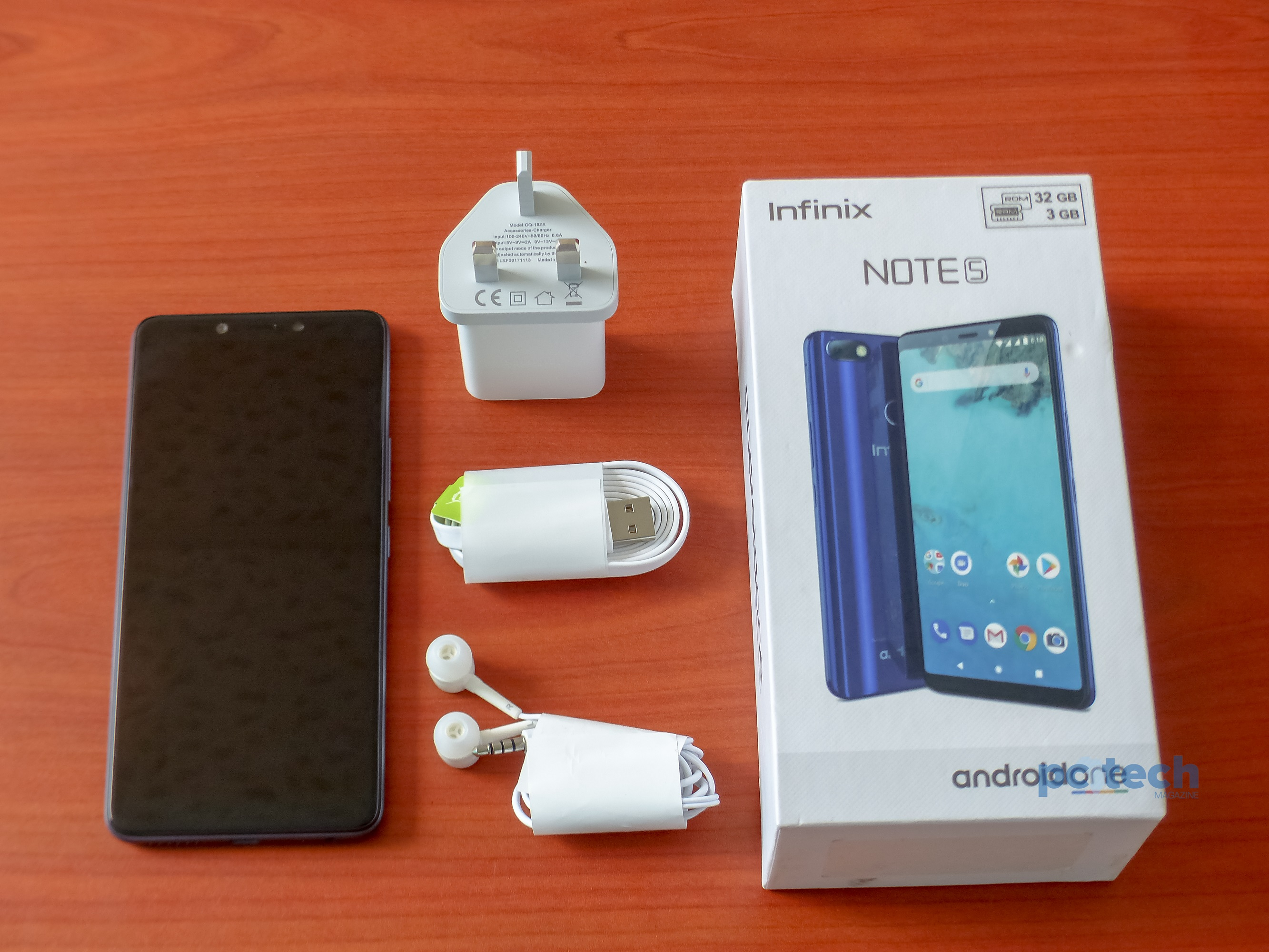 Infinix Note 5 Unboxing and First Impression: Fully Android