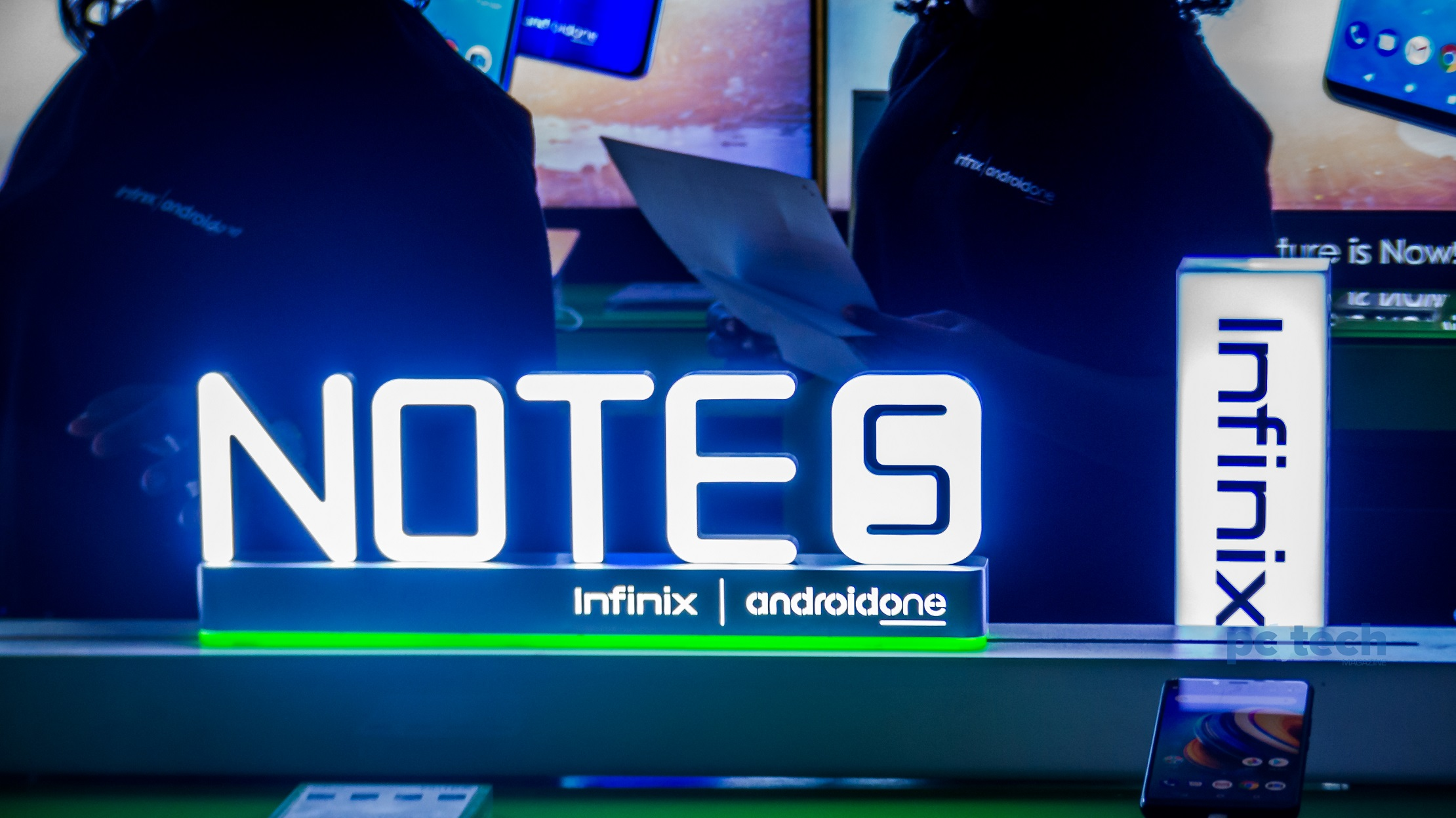 Launching the Infinix Note 5 at the Hotel Triangle in Kampala, Uganda on Monday 25th, June 2018.