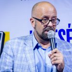 MTN Uganda's Chief Marketing Officer; Olivier Prentout speaking during the launch of Kwese Iflix Platform in Uganda on Tuesday 12th, June 2018 at The Square Palace in Kampala, Uganda.