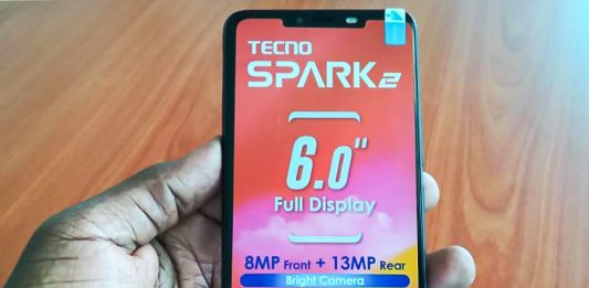 Tecno Mobile launches the Tecno Spark 2; the successor to the Tecno Spark and Spark Plus to the Ugandan Market. Available in Bordeaux red, midnight black, champagne gold. and city blue color options in all Tecno shops.