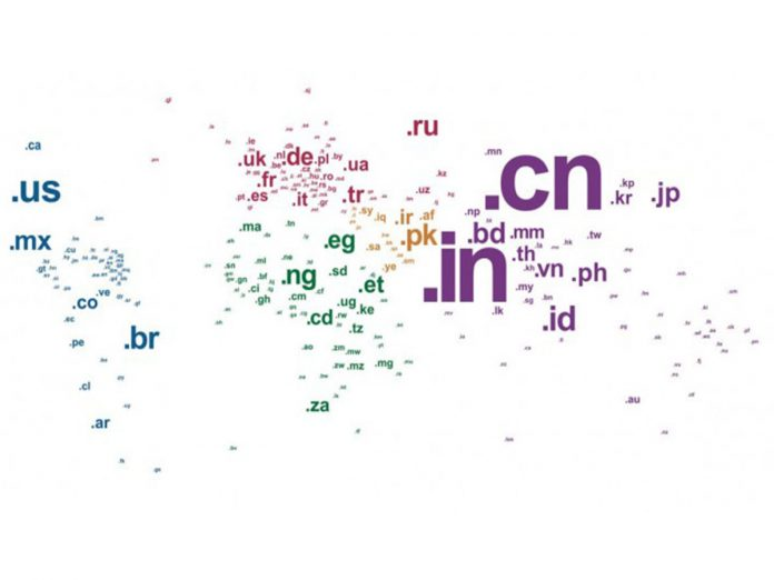 China's .cn domain name extension is tops as the largets ccTLDs. (Image Credit: studio24)