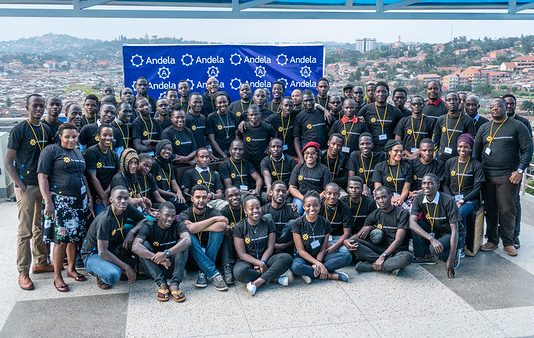 Some of the participants that attended the first Andela Developers Conference hosted by Andela Uganda at their head offices in Bukoto on Saturday 28th, July 2018.