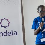 Country Director at Andela Uganda, Jackie Ochola at the first Andela Developers Conference hosted by Andela Uganda at their head offices in Bukoto on Saturday 28th, July 2018.