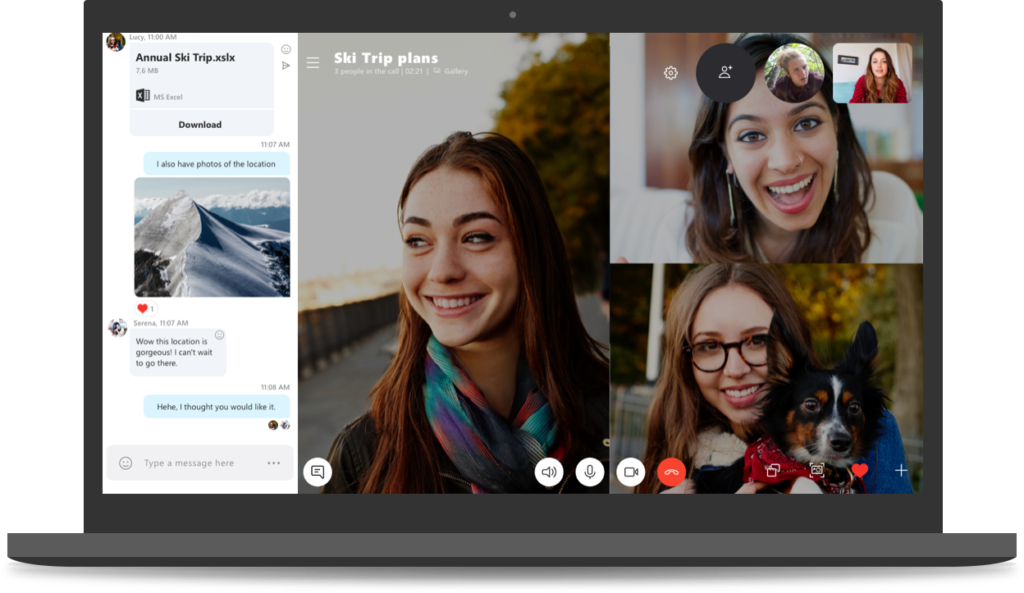 Photo of Microsoft announces Skype version 8.0 with HD video, screen-sharing in calls and call recording
