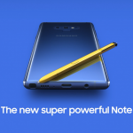 The leaked video of the Samsung Galaxy Note 9 by Samsung showcases a golden/yellow S Pen, which will accompany the blue variant of the Note 9. (Twitter : @iam__one)
