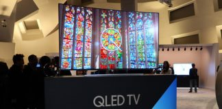 Samsung QLED TV models were launched early this year. (Photo Courtesy)