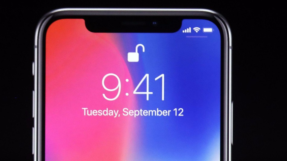 The iPhone X was the first mainstream smartphone to offer a notched screen. (Photo Credit: Mashable)