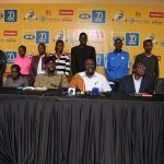 Over 300 elite runners confirm participation in the 2018 MTN Kampala Marathon. Pictured are current title holders for the 42km and 21km runs.