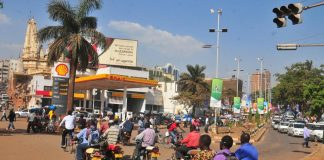 Boda Boda riders operating around the city centers of Kampala, Uganda.(Photo Courtesy: RFI)