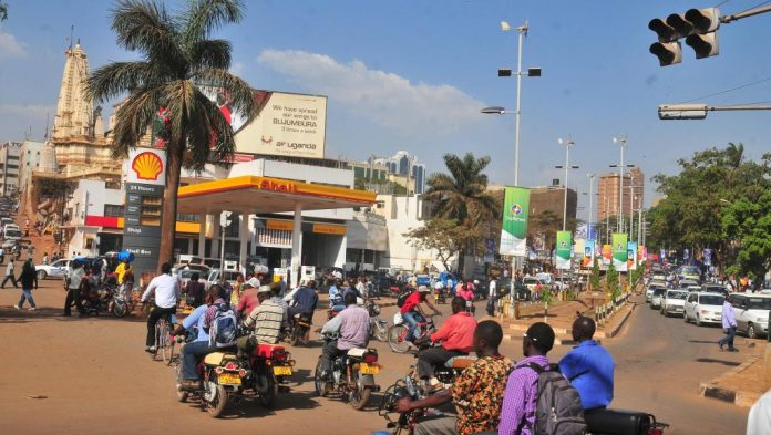 Boda Boda riders operating around the city centers of Kampala, Uganda.(Photo Courtesy: RFI)