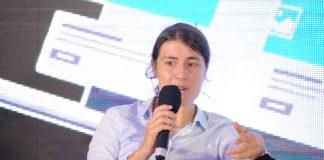 Elsa Muzzolini, the General Manager, Mobile Financial Services MTN Uganda.