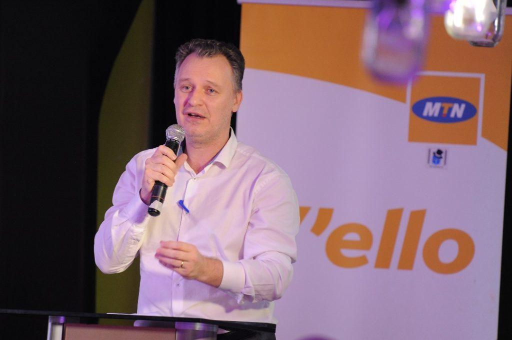 Wim Vanhelleputte, the MTN Uganda CEO.