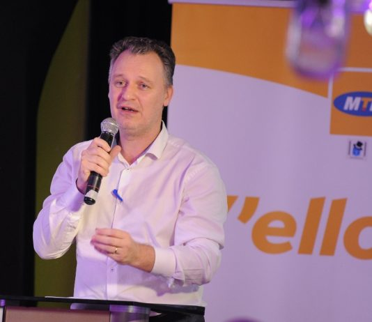 Wim Vanhelleputte, the MTN Uganda CEO.