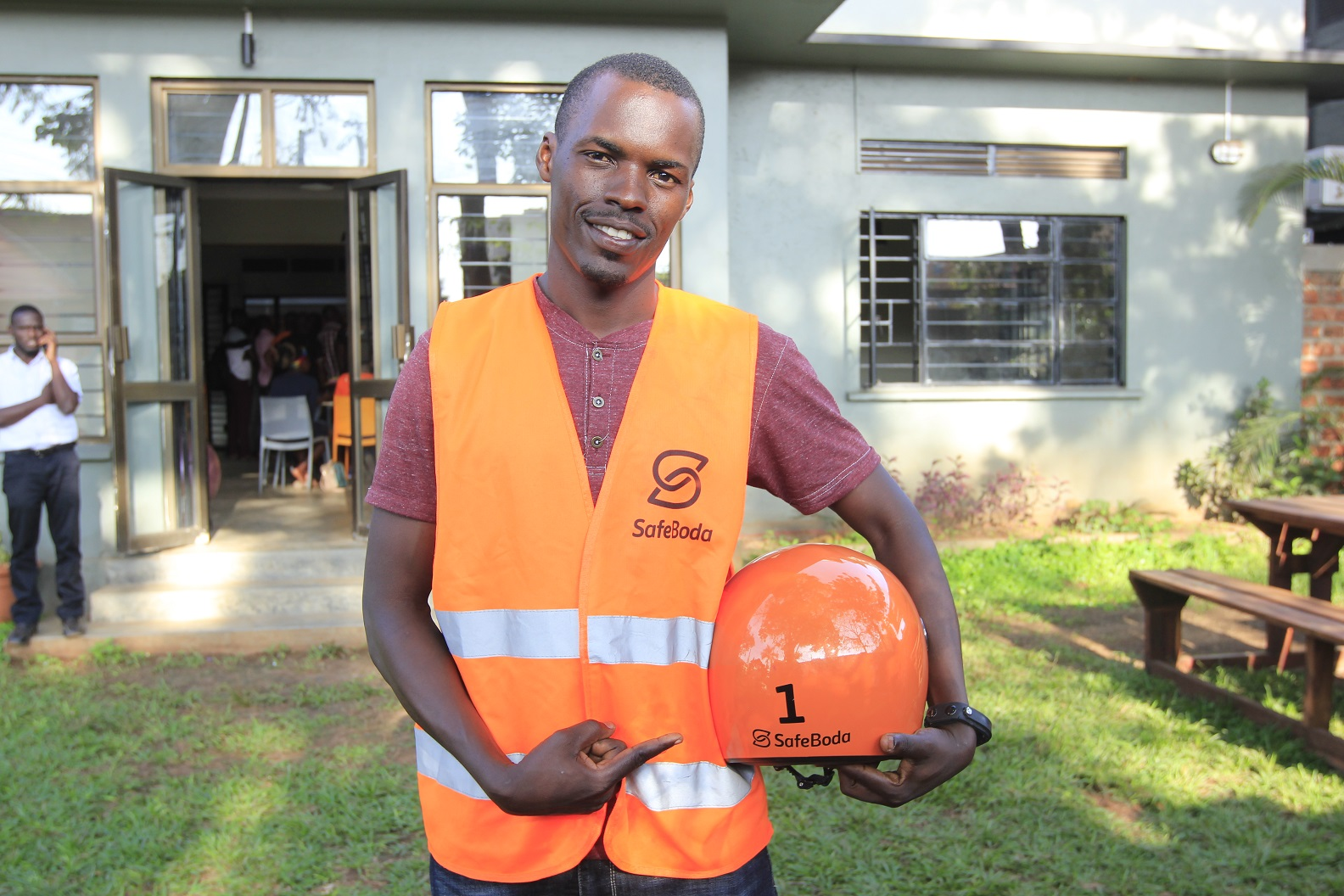 Photo of A Sit Down With SafeBoda Pioneer Rider, Moses Musinguzi